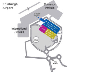 Edinburgh Airport Directions